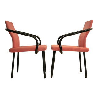 Ettore Sottsass Memphis Mandarin chairs - A Pair