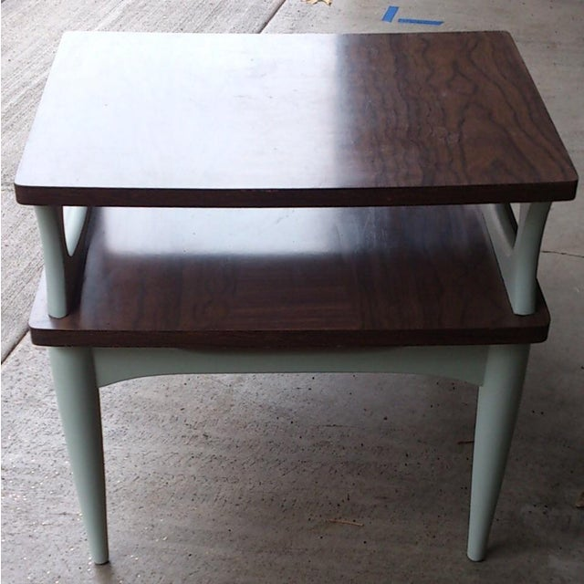 Mid-Century Two Level End Table - Image 4 of 7