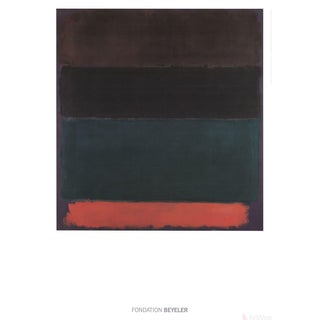 "Mark Rothko ""Red-Brown"" 2015 Poster"