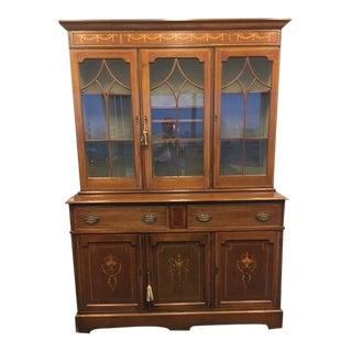 English 1880's Mahogany Bookcase or Cabinet