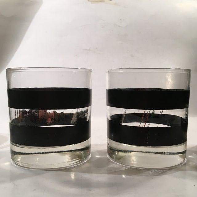 Georges Briard Signed Rocks Glasses - Set of 4 - Image 5 of 8