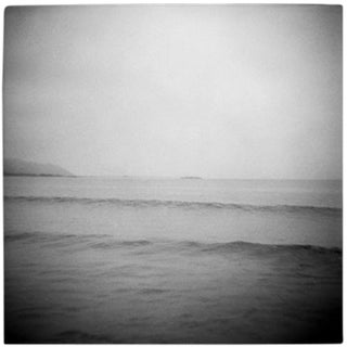 """Rincon Glass"" Black & White Photograph"
