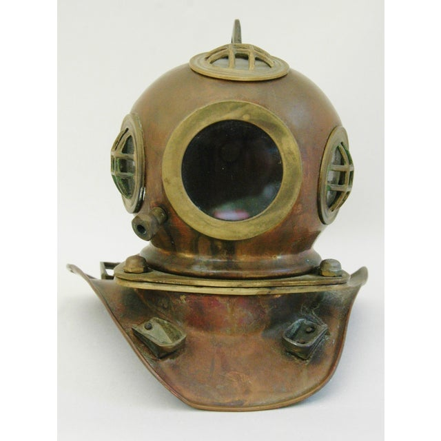 1960's Nautical Brass Diving Helmet - Image 4 of 9