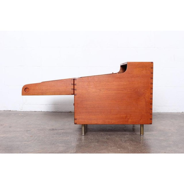 Hans Wegner Teak Cube Bar - Image 5 of 10