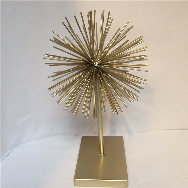 Gold Star Burst on Stand - Image 4 of 6