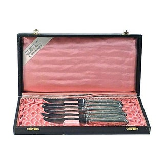 Christofle Antique Silver Fruit Knives - Set of 6