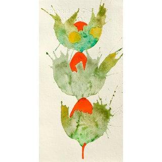 'Triple Botanical' Watercolor Painting