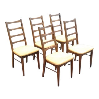 Broyhill Mid-Century Modern Dining Chairs - Set of 5