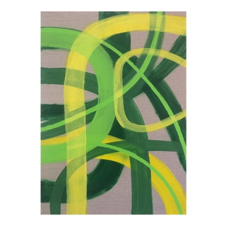 'DOUBLEMiNT' original abstract painting by Linnea Heide
