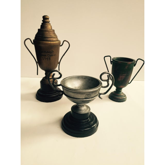 Wooden Decorative Trophies - Set of 3 - Image 2 of 5