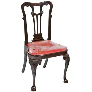 George II Walnut Side Chair