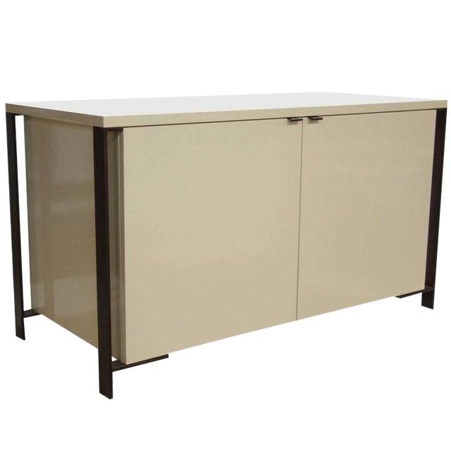 Fabry Bronze Frame Media Cabinet - Image 1 of 8