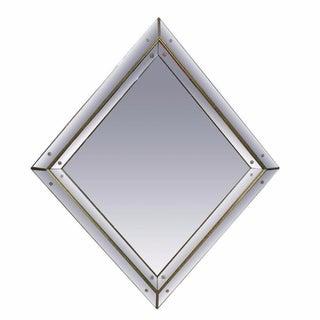 Diamond Shaped Regency Style Mirror