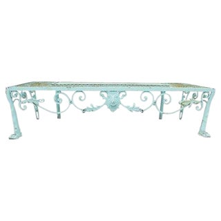 French Style Garden Bench