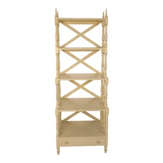 Regency Style Painted 5-Tier Etagere