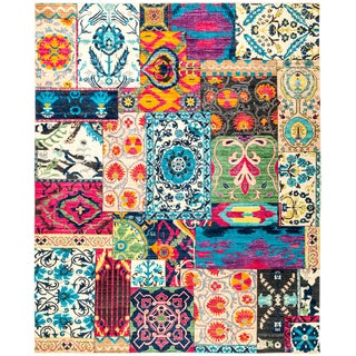 """Suzani Hand Knotted Area Rug - 8'2"""" X 10'0"""""""