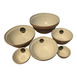 Mason Cash Original Cane Mixing Bowls - Set of 6