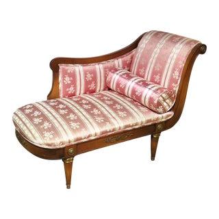 Jansen Style Pink Regency Settee