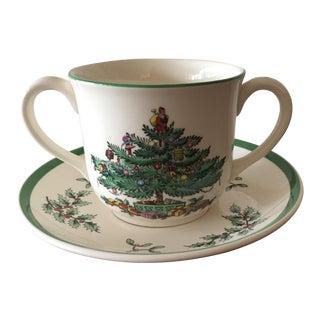 Spode Christmas Tree Child's Cup & Saucer