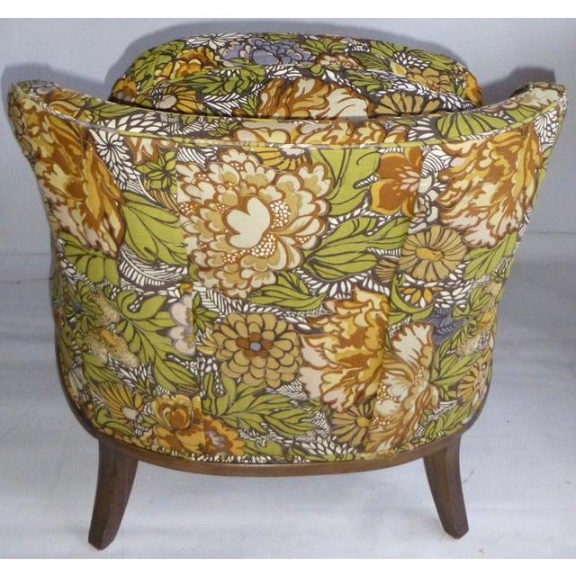 Mid Century Modern Club Chair - Pair - Image 5 of 10