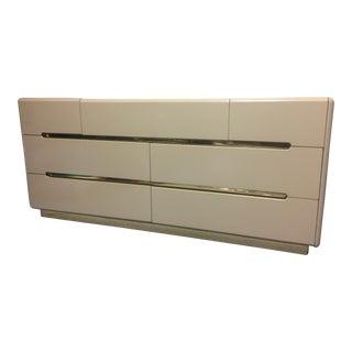 Lane Furniture Tan Lacquer Dresser