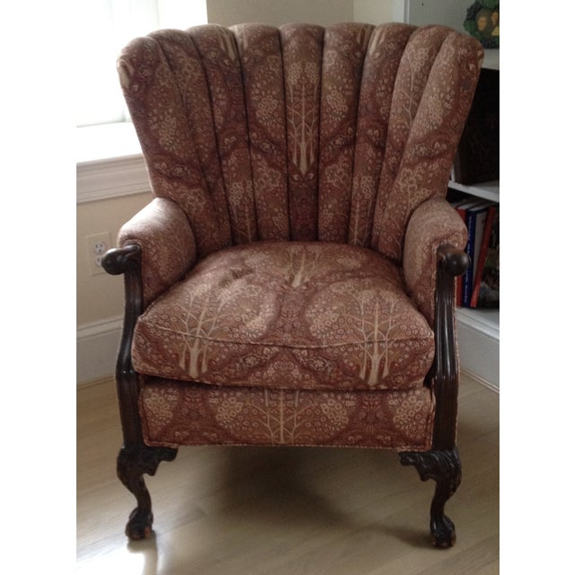 1920s Channel Back Chair Chairish