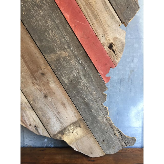 Reclaimed Barn Wood Texas Sign - Image 6 of 7