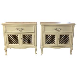 Henredon French Provincial Nightstands - A Pair