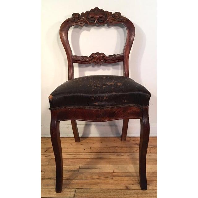 Regina Mahogany Traditional Dining Set: Victorian Mahogany Dining Room Chairs - Set Of 6
