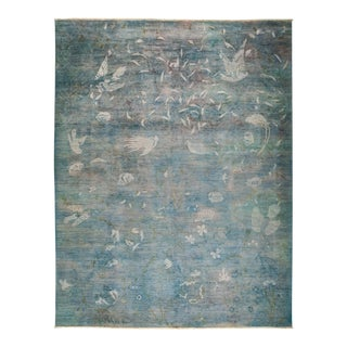 """Vibrance Hand Knotted Area Rug - 8' 10"""" X 11' 7"""""""