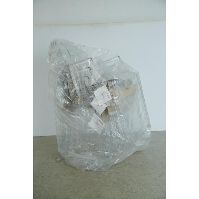 Louis XVI Ghost Chairs by Philippe Starck for Kartell, Unused With Original Tags, Four (4) Available - Image 8 of 9