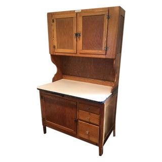 1930s Antique Hoosier Kitchen Cabinet