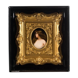 Hutschenreuther Wagner Painted Porcelain Plaque