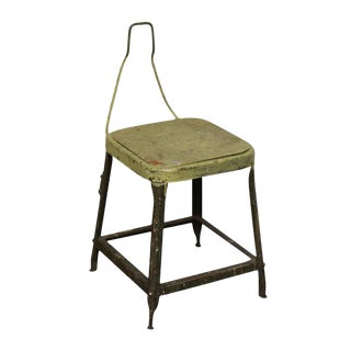 Industrial Metal Sewing Factory Stool