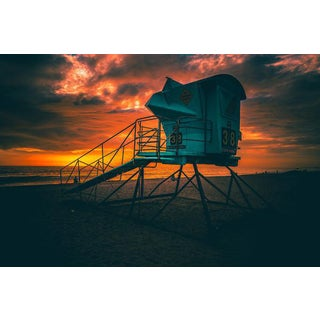 Jason Mageau Lifeguard Beach Tower Photograph