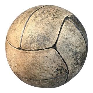 Vintage English Leather Medicine Ball