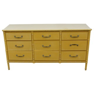Vintage Palm Beach Style Dresser