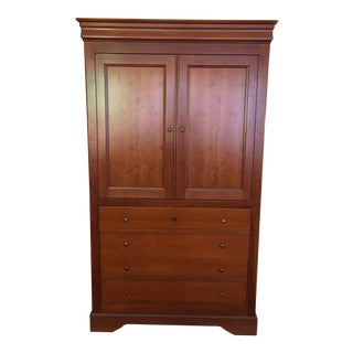 Grange Solid Cherry Media Armoire