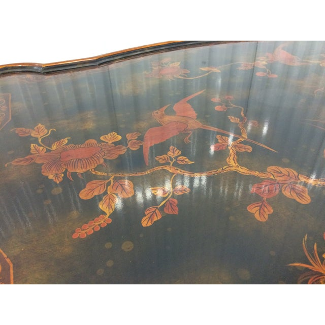 Maitland-Smith Hand-Painted Inlay Coffee Table - Image 10 of 10