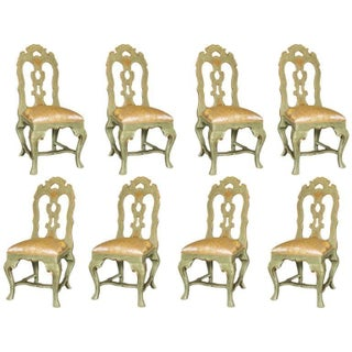 Ivana Trump Palm Beach Dining Chairs  - Set of 8