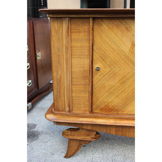 French Art Deco Rosewood sideboard / Credenza Circa 1940s - Image 5 of 10
