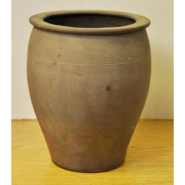 Vintage French Stoneware Pot - Image 3 of 7