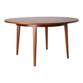 Bleached Mahogany Dining Table by Edward Wormley for Dunbar