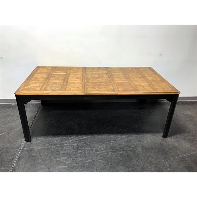 asian style dining table stanley quot kyoto quot vintage asian style dining table chairish 5498