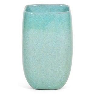 Large Turquoise Glidden Ceramic Vase