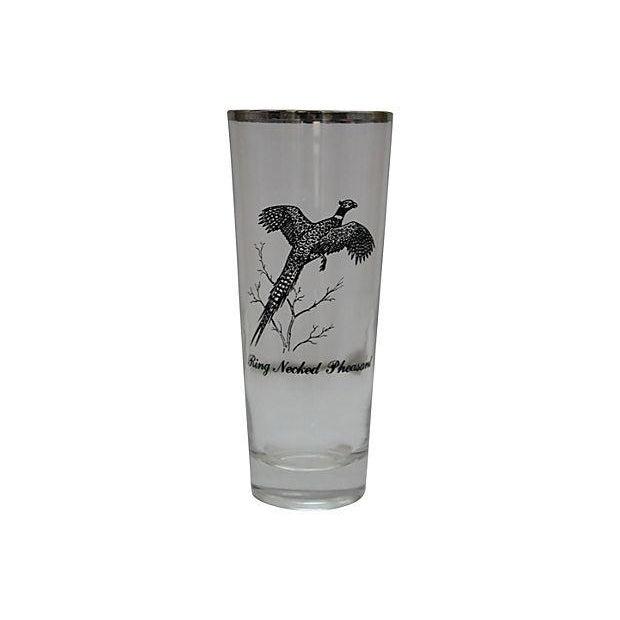 Image of Sportsman Game Bird Bar Glass Set - 21 Pcs.