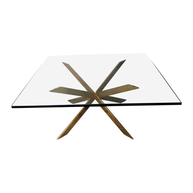 Pace Collection Double X Coffee Table Base - Image 1 of 11