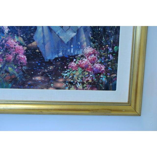"Oil on Canvas - Paul Matthews ""Trellished Path"" - Image 7 of 7"