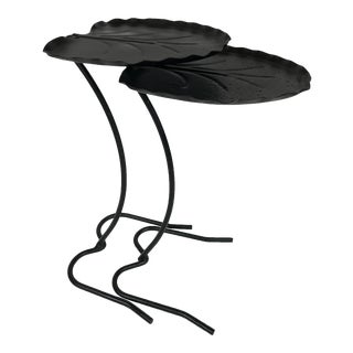 Salterini Lily Pad Nesting Tables - A Pair