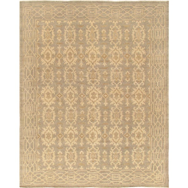 Image of Pasargad Khotan Tan Traditional Rug - 6' x 9'